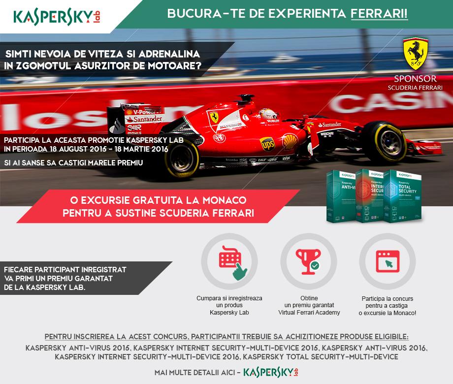 Bucura-te de experienta Ferrari!