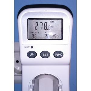 Consum de curent cu tot sistemul in full load + monitorul ce are un consum de 40 de watti.