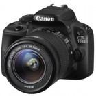 Canon EOS 100D negru + obiectiv EF-S 18-55mm f/3.5-5.6 III