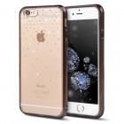 Ringke Protectie pentru spate Noble Swaroski Snow Fusion Crystal negru fumuriu pentru Apple iPhone 6 Plus si 6S Plus
