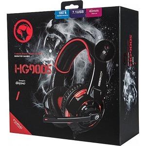 Casti Gaming Marvo HG9005 Red