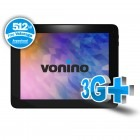 Tableta Vonino Spirit QS, 9.7 inch IPS MultiTouch, Cortex A7 1.2GHz Quad-Core, 1GB RAM, 16GB flash, Wi-Fi, Bluetooth, 3G, Android 4.2.1, negru
