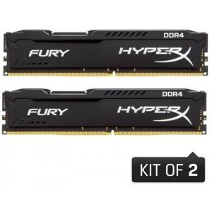 Memorie HyperX Fury Black 16GB DDR4 2133MHz CL14 Dual Channel Kit