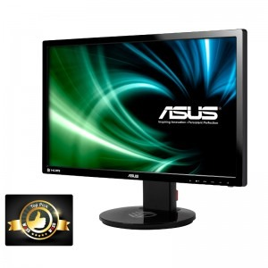 Monitor LED ASUS Gaming VG248QE 24 inch 1ms black 3D 144Hz