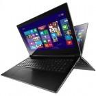 Lenovo 15.6'' IdeaPad FLEX 15, Procesor Intel® Core™ i5-4200U 1.6GHz Haswell, 8GB, 500GB HDD + 8GB SSH, GeForce GT 720M 2GB, Win 8, Negru - desigilat