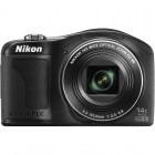 Nikon COOLPIX L610 negru + Card 8GB + Husa + Incarcator Energizer cu 2 acumulatori