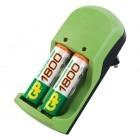 Incarcator GP Batteries Incarcator AA/AAA (R3/R6) NIMH + 2R6 2500 mAh