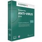 Securitate Kaspersky Anti-Virus 2014, 5 PC, 1 an, Retail, New license