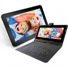 Tableta Serioux Surya Fun SMO10DC, 10.1 inch MultiTouch, Cortex A7 1.2GHz Dual Core, 1GB RAM, 8GB flash, Wi-Fi, Android 4.1 + tastatura