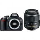 Nikon D3100 negru + obiectiv AF-S DX Zoom-Nikkor 18-55mm f/3.5-5.6G ED II