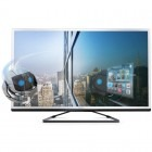 Televizor LED Philips Smart TV 46PFL4528H/12 Seria PFL4528H 117cm argintiu Full HD 3D