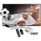 Televizor LED Samsung Smart TV 40H6400 Seria H6400 101cm negru Full HD 3D contine 2 perechi de ochelari 3D