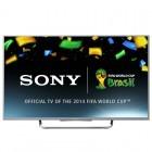 Televizor LED Sony Smart TV KDL-55W815 Seria W815 139cm argintiu Full HD