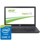 Acer 15.6'' Aspire E5-572G-7591, HD, Procesor Intel® Core™ i7-4712MQ (6M Cache, up to 3.30 GHz), 4GB, 1TB, GeForce 840M 2GB, Linux, Black