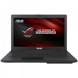 Notebook / Laptop ASUS Gaming 15.6'' ROG G56JK, FHD, Procesor Intel® Core™ i7-4710HQ (6M Cache, up to 3.50 GHz), 4GB, 1TB 7200 RPM, GeForce GTX 850M 2GB DDR3, Black