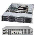 Server Supermicro SuperServer 6028R-E1CR12N, 2x Procesor Intel® Xeon® E5-2680 v3 2.5GHz Haswell, 16x 32GB LRDIMM DDR4 2133MHz, 4x 900GB SAS, 4x 800GB SATA, SFF 2.5 inch, 10Gb BaseT LAN, LSI SAS 3108 2GB cache