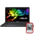 ASUS 17.3'' X751LN, HD+, Procesor Intel® Core™ i5-5200U 2.2GHz Broadwell, 4GB, 1TB, GeForce 840M 2GB, FreeDos, Black