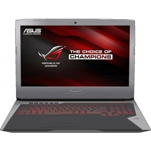 Notebook / Laptop ASUS Gaming 17.3'' ROG G752VY, FHD IPS, Procesor Intel® Core™ i7-6700HQ (6M Cache, up to 3.50 GHz), 16GB DDR4, 1TB 7200 RPM + 128GB SSD, GeForce GTX 980M 4GB, Windows 10