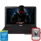 ASUS 17.3'' ROG G771JW, FHD, Intel® Core™ i7-4720HQ (6M Cache, up to 3.60 GHz), 8GB, 1TB, GeForce GTX 960M 4GB, Black