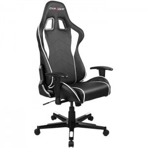 Scaun gaming DXRacer Formula, negru cu alb