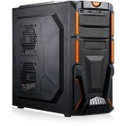 Gaming FX 40 v5 Powered By ASUS, AMD FX-4300, 4GB DDR3, 1TB HDD, Radeon R7 250X, Placa sunet ASUS Xonar, Wi-Fi