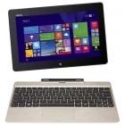 "ASUS 10.1"" Transformer Book T100TAM, HD Touch, Procesor Quad Core Intel® Atom Z3795 1.59GHz, 4GB, 64GB flash, 500GB, GMA HD, Win 8.1, Gold + Docking"