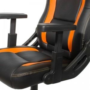 Scaun gaming Arozzi Mugello, portocaliu