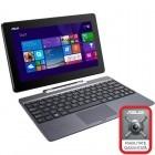"ASUS 10.1"" Transformer Book T100TAL, HD Touch, Procesor Quad Core Intel® Atom Z3735D 1.33GHz, 2GB, 32GB flash, GMA HD, 4G LTE, Win 8.1 Bing, Gray + Docking"