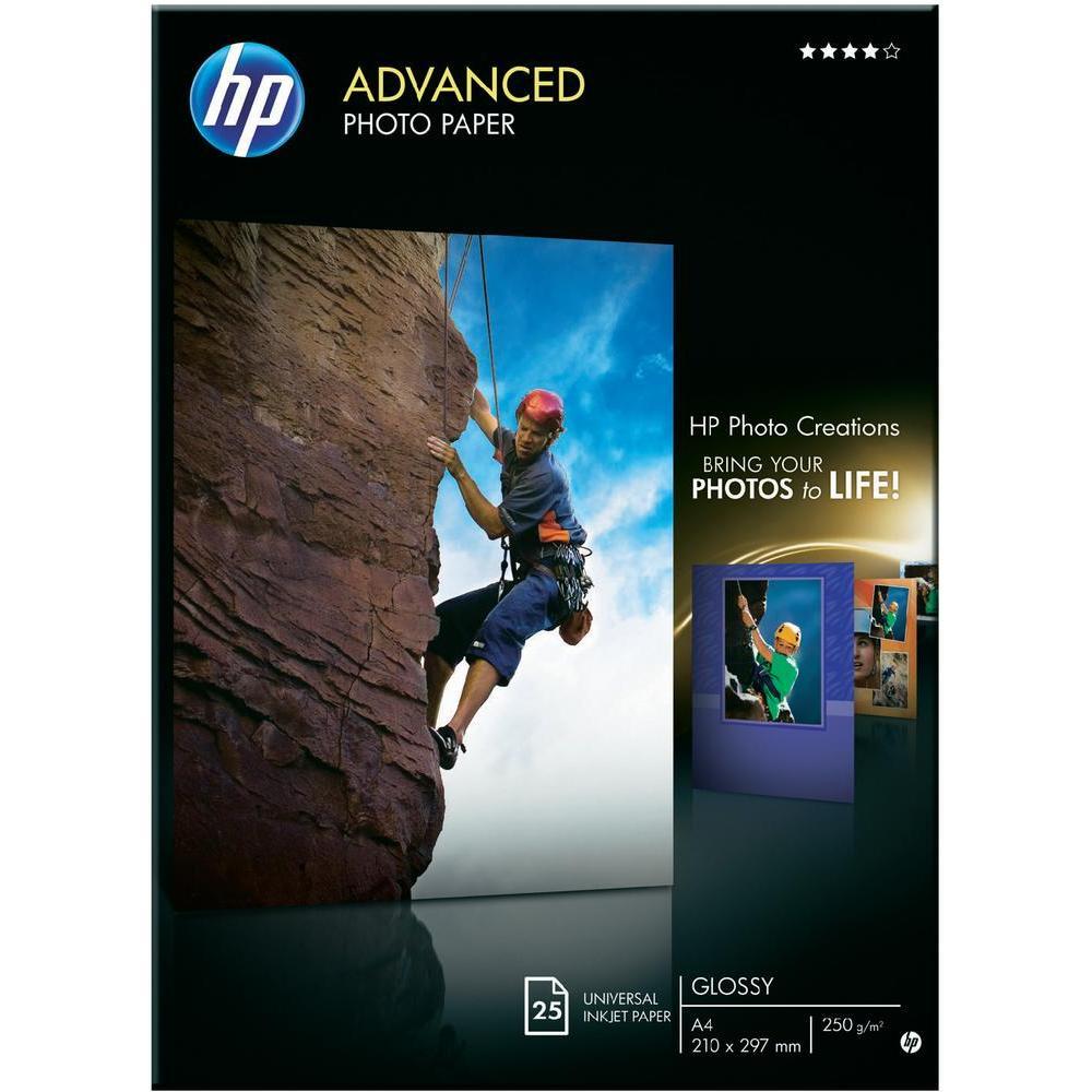 Hartie HP Advanced Glossy Photo A4 25 coli