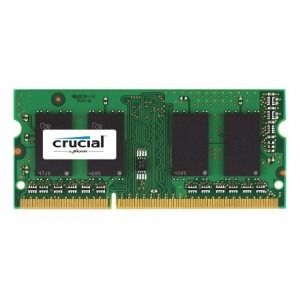 Memorie notebook Crucial 4GB, DDR3, 1600MHz, CL11, v1.35 - compatibil Apple