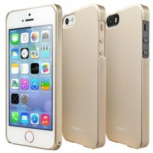 ringke protectie pentru spate slim royal auriu pentru apple iphone 5