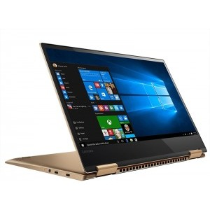 Notebook / Laptop 2-in-1 Lenovo 13.3'' Yoga 720, FHD IPS Touch, Procesor Intel® Core™ i5-7200U (3M Cache, up to 3.10 GHz), 8GB DDR4, 256GB SSD, GMA HD 620, Win 10 Home, Copper