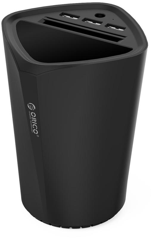 Incarcator auto GSM Orico UCH-C3, 3x USB, Black