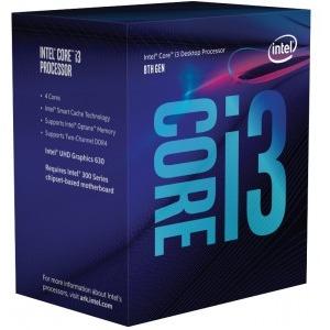 Procesor Intel Coffee Lake, Core i3 8100 3.60GHz box