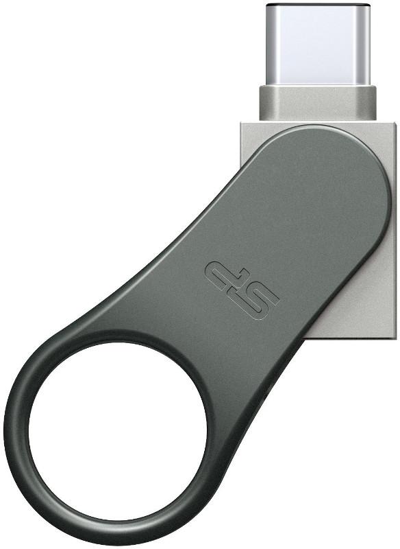 Memorie externa Silicon-Power Mobile C80 64GB USB 3.0 Tip-C Silver
