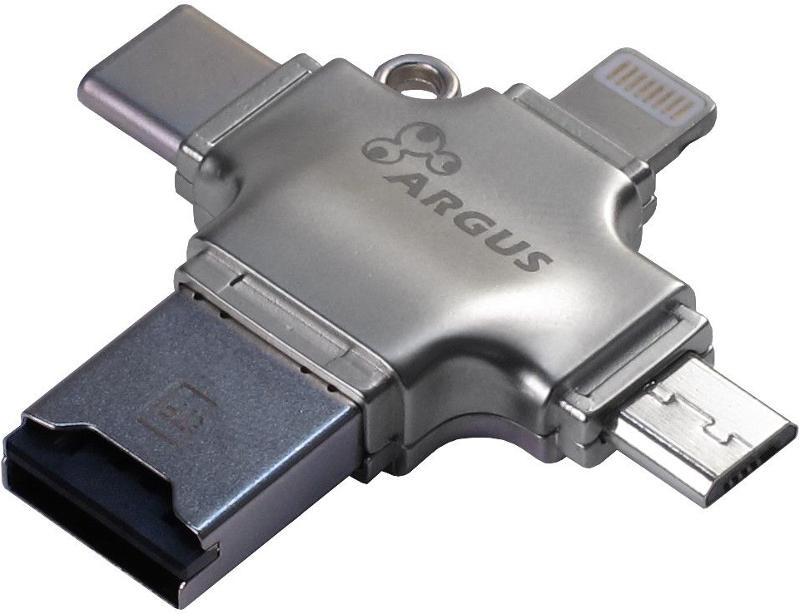 Cititor carduri Inter-Tech Argus R-010 USB 2.0