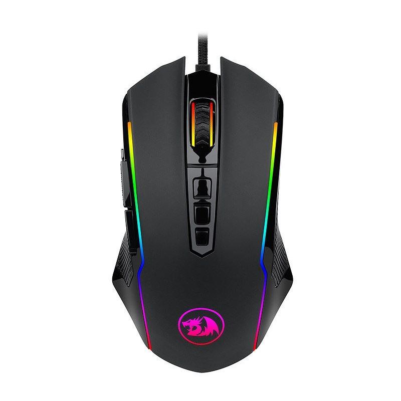 Pachet gaming Redragon, tastatura gaming Shiva RGB + mouse gaming Ranger RGB 5