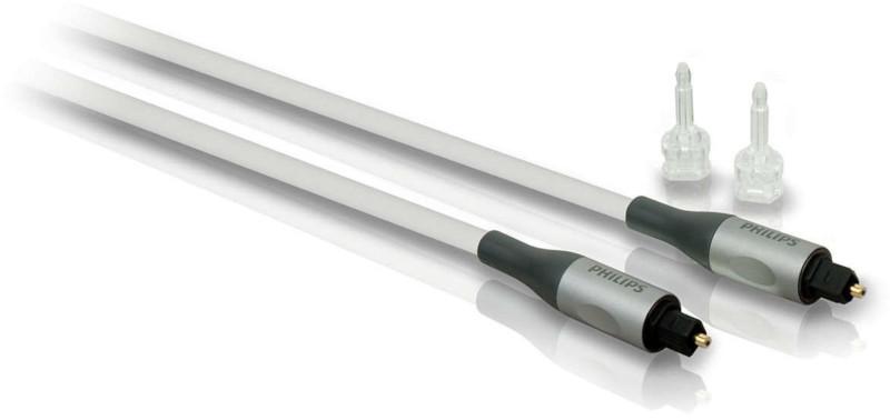 Cablu audio Philips SWA3303S S/PDIF Optic Male - S/PDIF Optic Male, 3m, argintiu