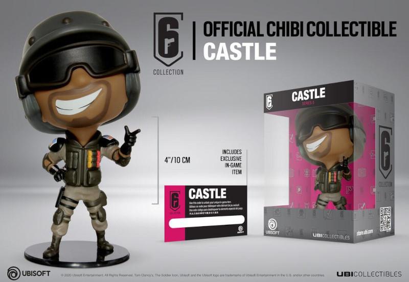 Ubisoft RAINBOW SIX SIEGE CASTLE CHIBI FIGURINE