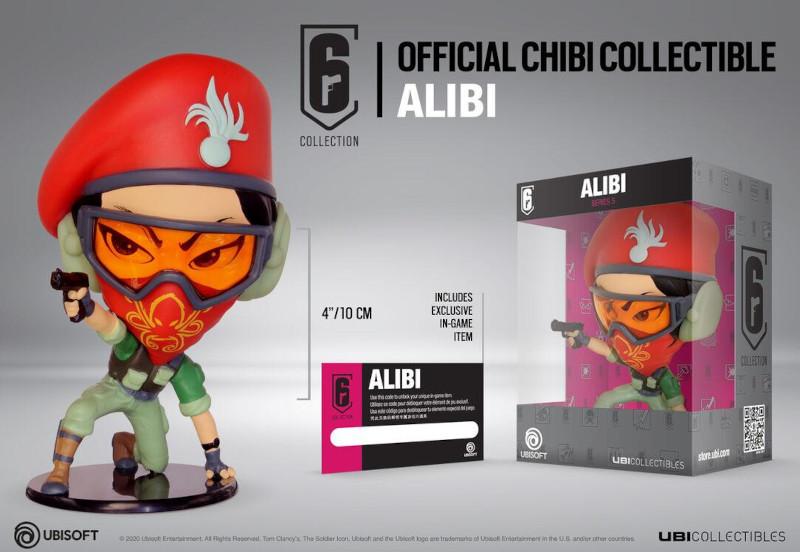 Ubisoft RAINBOW SIX SIEGE ALIBI CHIBI FIGURINE