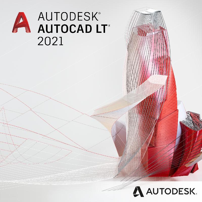 Autodesk AutoCAD LT 2021 Commercial New Single-user ELD, Subscriptie anuala