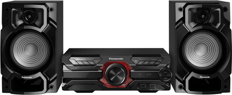 Mini-sistem audio Panasonic Microsistem audio High SC-AKX320E-K, 450W RMS, Dual USB, Bluetooth, Max Juke App., Subwoofer 16cm