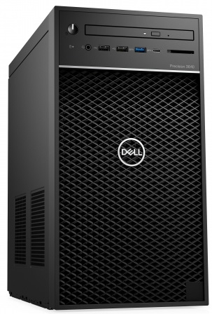 Desktop PC DELL Precision 3640 MT, Procesor Intel® Core™ i9-10900K 3.7GHz Comet Lake, 16GB RAM, 256GB SSD, Quadro RTX 4000 8GB, no OS