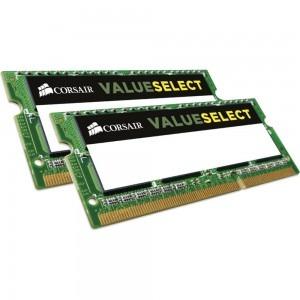 Memorie notebook Corsair ValueSelect, 16GB, DDR3, 1600MHz, CL11, 1.5v, Dual Channel Kit