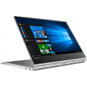 """Notebook / Laptop 2-in-1 Lenovo 13.9"""" Yoga 910, FHD IPS Touch, Procesor Intel® Core™ i5-7200U (3M Cache, up to 3.10 GHz), 16GB DDR4, 512GB SSD, GMA HD 620, Win 10 Home, Silver"""
