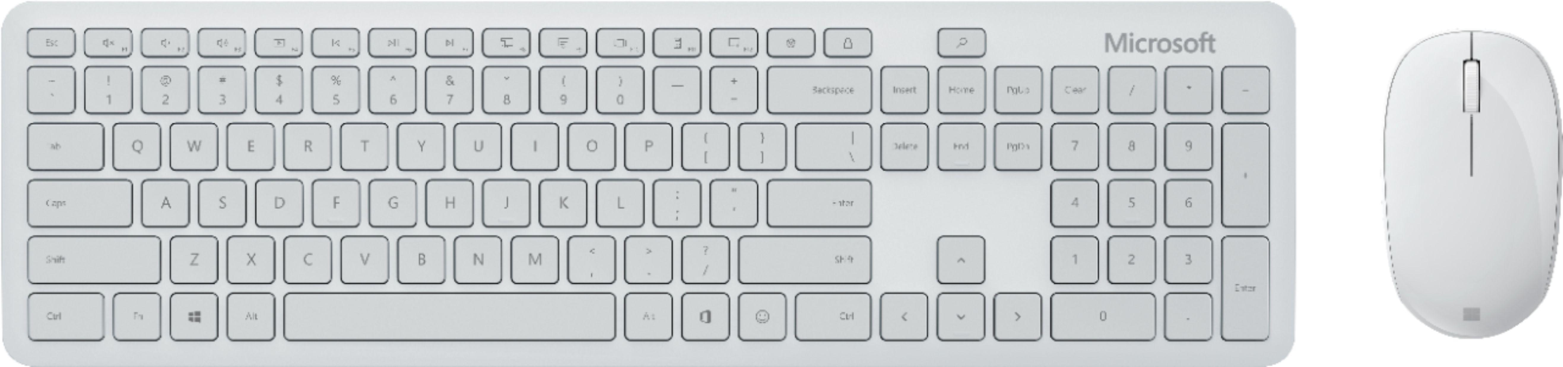 Kit tastatura + mouse Microsoft Kit Bluetooth Desktop Glacier