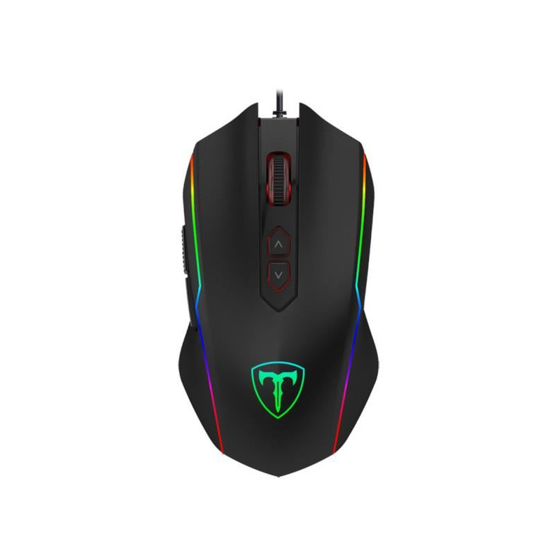 Pachet gaming T-DAGGER, tastatura mecanica Destroyer Rainbow + mouse gaming Sergeant RGB + casti gaming Atlas 7