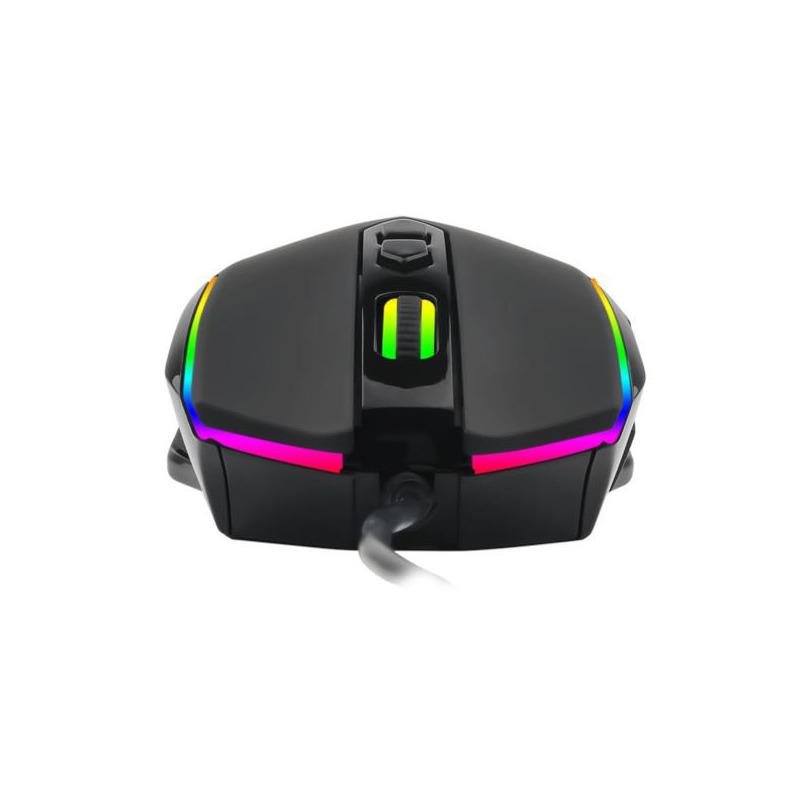 Pachet gaming T-DAGGER, tastatura mecanica Destroyer Rainbow + mouse gaming Sergeant RGB + casti gaming Atlas 11