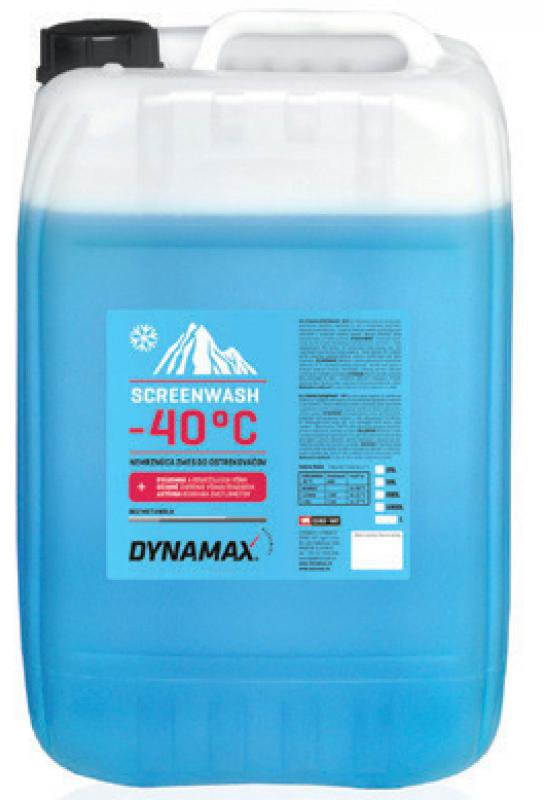 Lichid parbriz Dynamax Concentrat de iarna 25L