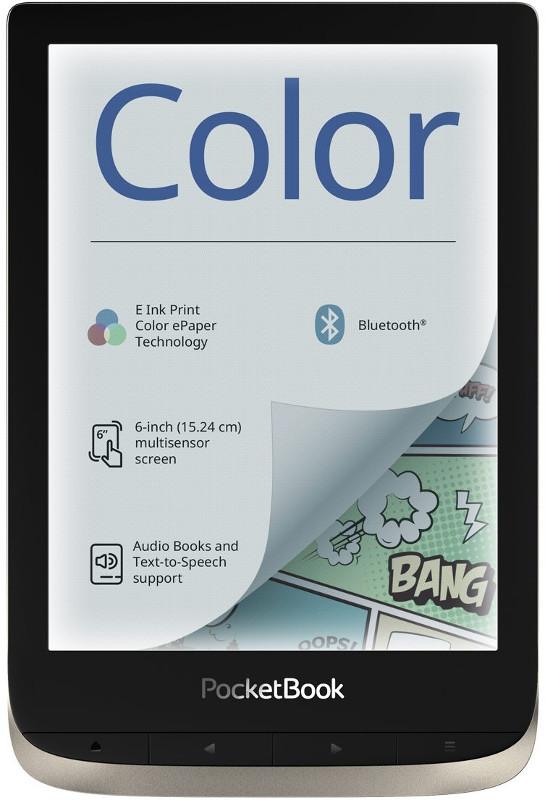 E-book Reader PocketBook Color Moon Silver